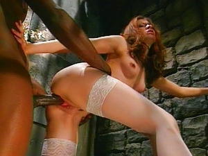 Black policeman and nurse fucking together