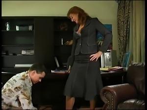 Horny Milf Boss