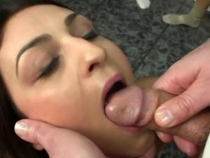 bukkake with hottie 3