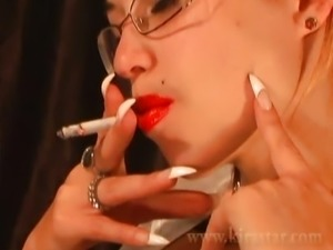 Kira Star Smoking