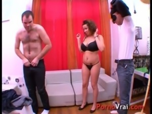 Arab nurse wants to get fucked by 2 guy!! French amateur free