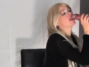 Hot blonde glory hole bj-more on voayercams.com