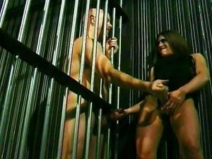 Making her jail bitch squeel