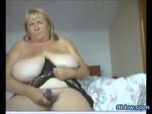 BBW Big Boobed Webcam