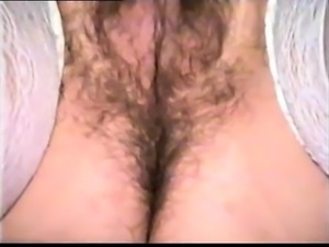I and bushy wife bathrooms cut her pubes