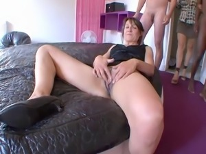 Crazy anal party incredible!!! French amateur