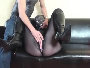 Latex Bondage and Breathplay