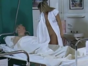 Beautiful Nurse Having Sex with Old Man in Hospital