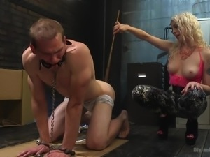 All the painful screams in this video are real. Lorelei Lee humiliated and...