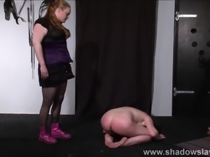 Lesbian Taylor Hearts extreme humiliation
