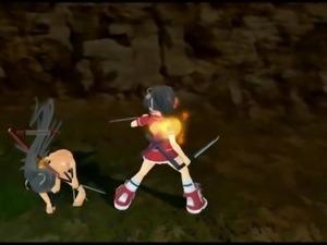 Senran Kagura Naked Battle!!!