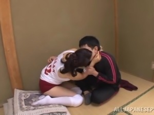 Banging a Japanese MILF's Pussy in Reality Porn Video
