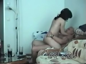 Old Indian guy fucks sexy young girl in amateur porn video