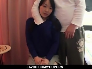 Amateur, Mayu Kudo, gets fucked in rough ways
