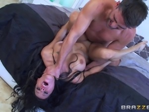 Ravishing Peta Jensen and two erected dicks of her best friends