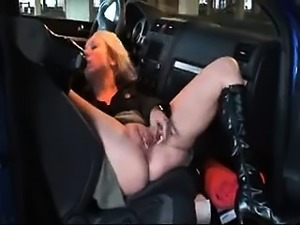Parking Dildo Insertion