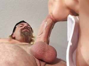 Neighbor fucks busty blonde hard