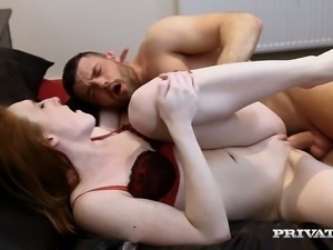 Sabrina Jay is naturally submissive and she loves being dominated during sex