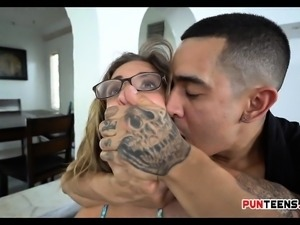 Punishing Dumb Slut With Brutal Fucking Cock Layla London