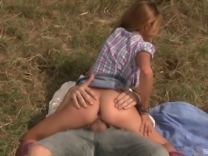 She's a real cowboy babe who is so good in the vigorous cock riding