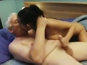 Indian girl fucked nicely by an Old guy