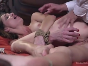 Nothing depends on Silvia, she only needs to obey all his desires. She can...