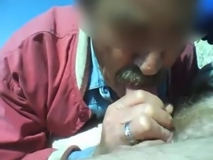 not dad Sucking Cock in Public - dadluvr13