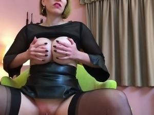 cum for the nylon queen anett larmann