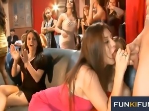 These well-mannered ladies love bachelorette parties and they give great BJs