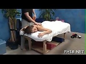 Massage clip scene