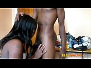 Real African Amateur Couple