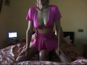 Sexy big boobs milf