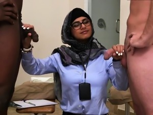 Teen double ended dildo Black vs White, My Ultimate Dick
