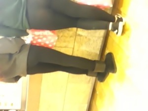 More super thin leggings teen thong show off