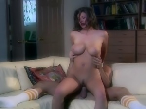 Lovely babe in bikini swallows cum after pinned hardcore in a reality scene